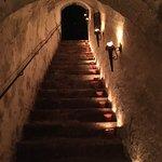 Treppe zum Burgkeller