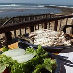 perfectly grilled dourada with salad