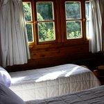 Hbitacion doble con camas separadas , vista al bosque