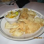 Mob appetizer - yum! Their grits are great too!