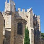 Pan de l'église de Peyriac