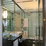 Glass Cubicle Bathroom