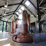 The still house at Walsh Whiskey Distillery where all 3 types of Irish Whiskey is produced
