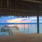Enjoy sunsets on the dock