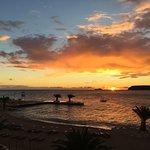 Sonnenuntergang vom Zimmer 2015