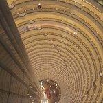 Looking down 88 floors