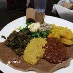Vegetarian Combination platter @ Tadu