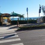 Strand over veien