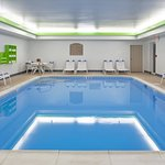 Our indoor pool is the place to let the kids work off some energy.