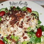 Chopped Chicken Salad with Bleu Cheese Dressing