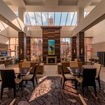Blue Birch is conveniently centered in the Great Room of the Minneapolis Marriott Southwest.