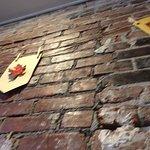 original brick with cute fall decor