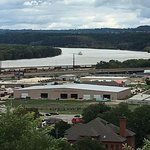 Mississippi River from the top of the hill