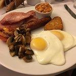 Lovely breakfast in the morning