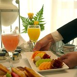 Room Service at your disposal 24 hours