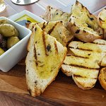 Olives with Artisan Bread