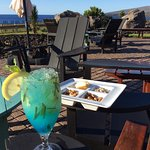 Mojito Rapa Nui on the terrace of Kaloa Restaurant