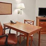 Queen Studio Suite desk area