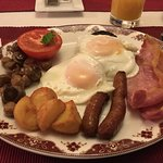 Full Scottish breakfast - Wow!!