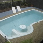 Solar Heated Pool