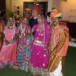 Rajasthani Theme dinner at poolside