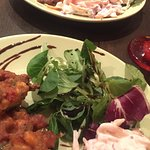 COD & veg fritters