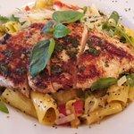 Rigatoni Capri with Chicken