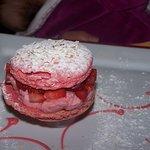 macaron fraise maison