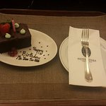 Birthday surprise from the hotel staff!