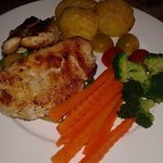 Grilled Chicken Breast With Garlic & Black Pepper
