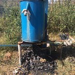 traditional water gyser