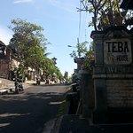 Bagian depan Teba House