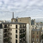 View of the Eiffel Tower from room 705