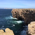Cliffs of Fortaleza de Sagres next door