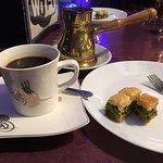 Turkish Coffee and Baklava. SO GOOD!