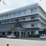 Front view of the Beaurivage Hotel, Baie des Citrons, Noumea
