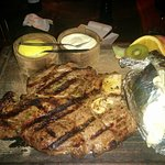 T-bone steak (600 gr)