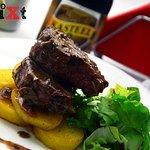 Beer & Food Pairings at Bistro GUXT: Beef sirloin with brown sauce & truffles / Quadrupel