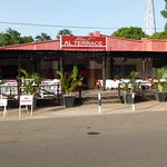 Cosy Placd at the Senegambia Strip, where you can oversee all the action