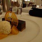 Brilliant chocolate parfait