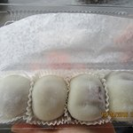 1 order of Strawberry Mochi in container($3.25)