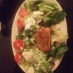 Grilled Salmon Salad......Blue Cheese Dressing