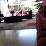 Reception waiting area...