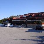 Restaurant Parking Lot