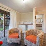 Sunbird suite lounge area