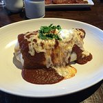 Amazing and HUGE breakfast burrito.