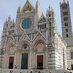 The awe-inspiring cathedral in Siena, close to the hotel