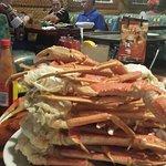 Mountain of Crab Legs!