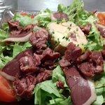 Salade périgourdine 16.10€