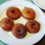 Apple fritters. YUM!